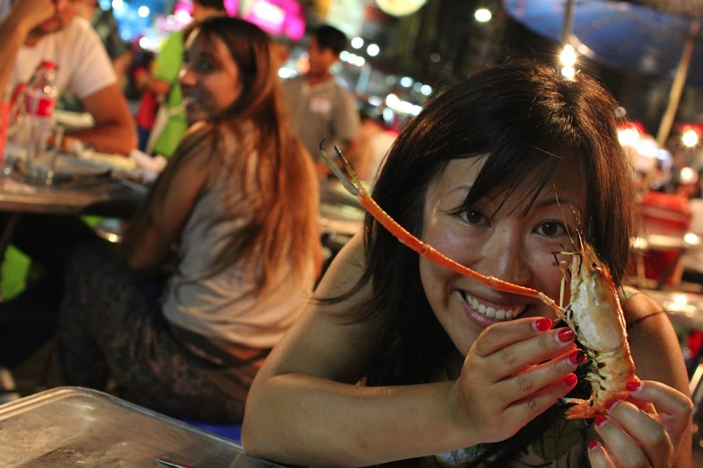 Seafood Chinatown Bangkok Thailand