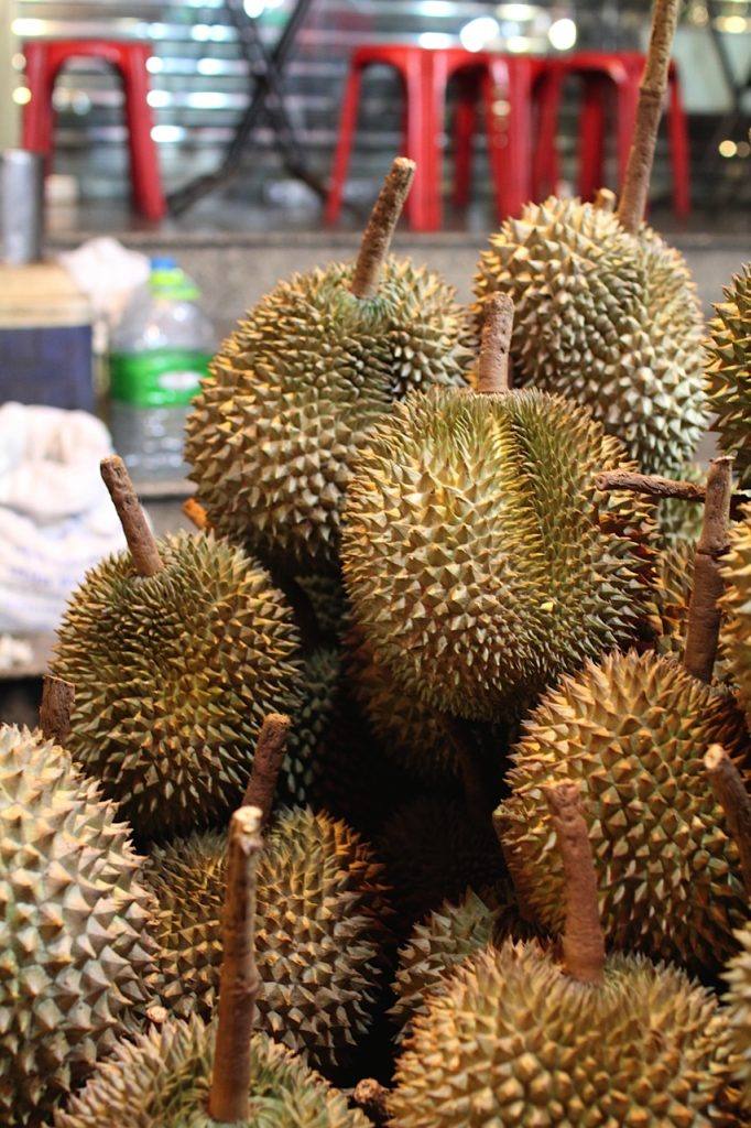 Durian Chinatown Bangkok Thailand