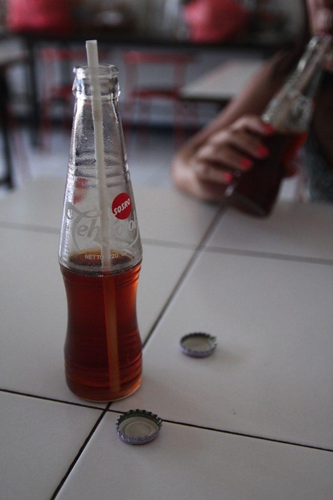 Jimbaran Bay restaurants: Teh botol, Jimbaran Bay, Bali,