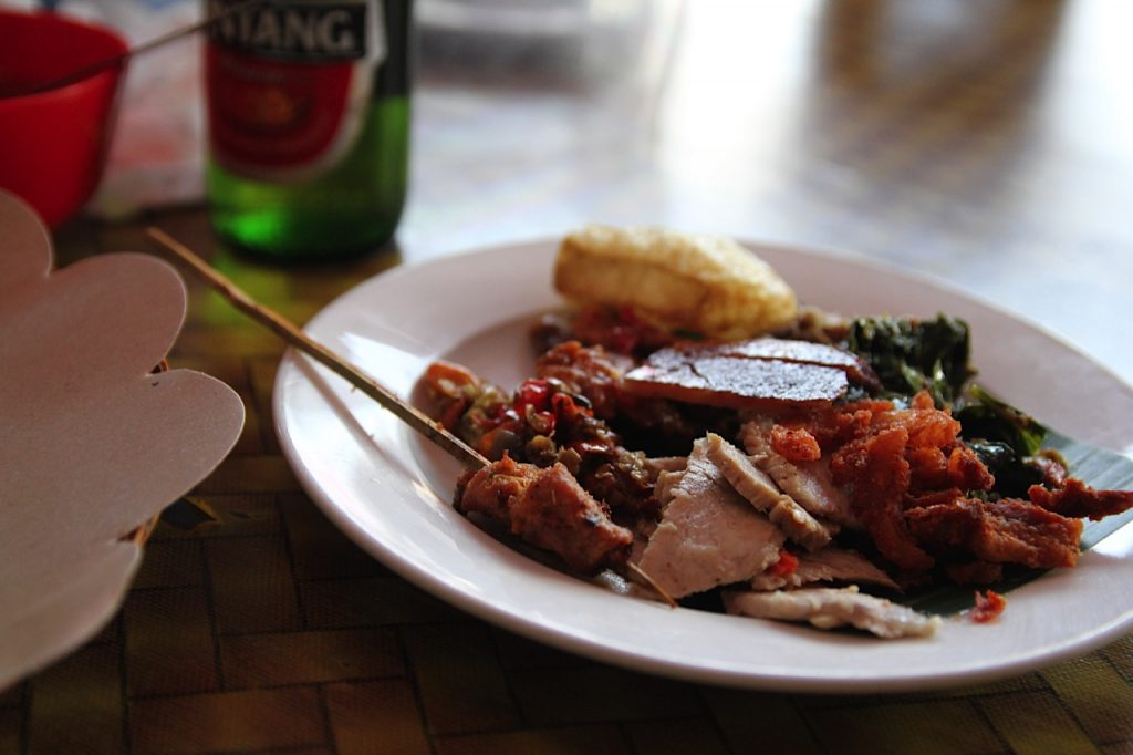 Best restaurants in Bali: babi guling at Pak Malen in Seminyak