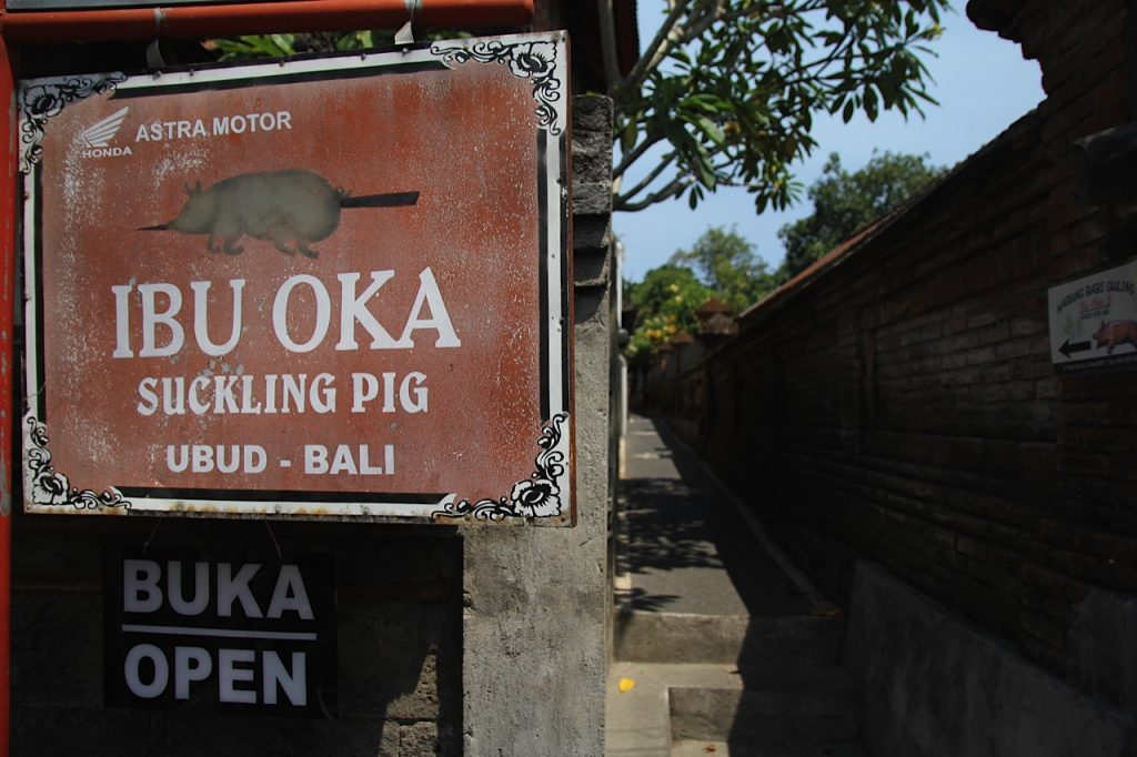Best restaurants in Ubud:Ibu Oka, Ubud, Bali