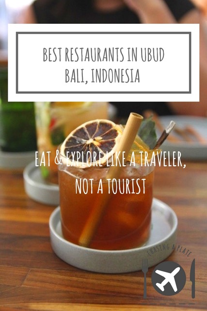 Best restaurants in Ubud, Bali, Indonesia