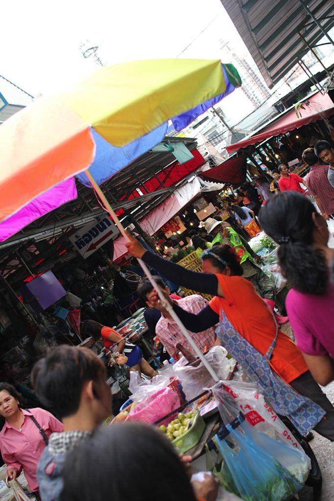 Khlong Toey market Bangkok Thailand
