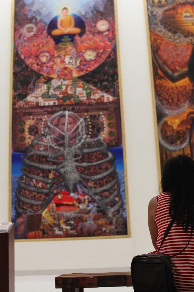 Art at Museum of Contemporary Art Bangkok Thailand