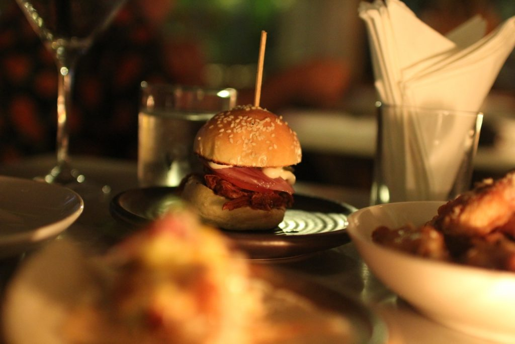 Best restaurants in Seminyak: pulled pork slider at Barbacoa, Seminyak, Bali