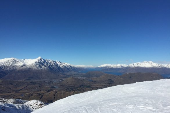 Queenstown New Zealand Coronet Peak