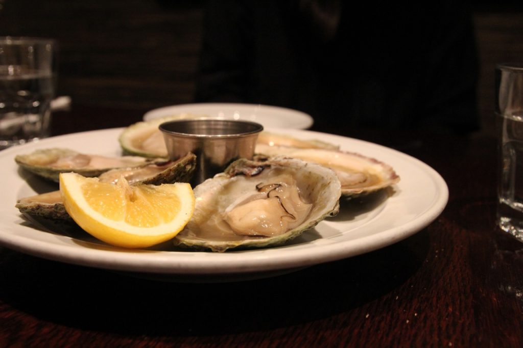 Bluff oysters Fishbone Queenstown New Zealand