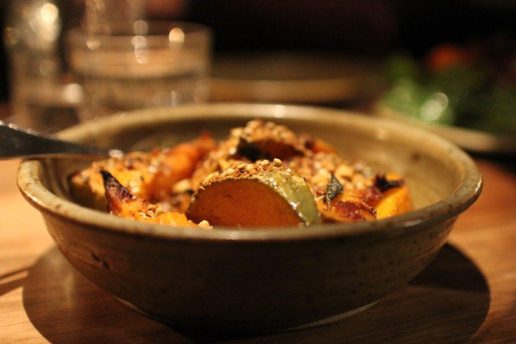 Pumpkin dish Sherwood Queenstown New Zealand