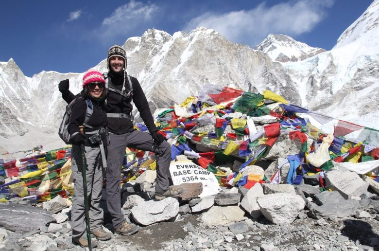 Everest Base Camp Nepal Sheena and Thomas