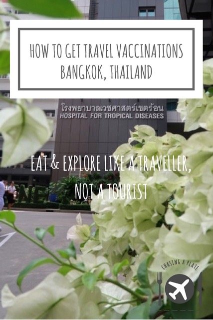 How to get travel vaccinations in Bangkok Thailand