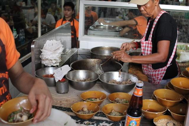 boat-noodles, Bangkok, Thailand