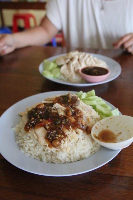 Chicken on rice, Pai