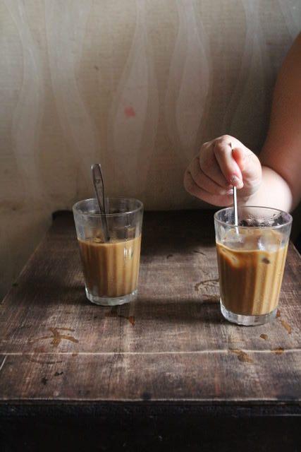 Vietnamese coffee at Nang Cafe