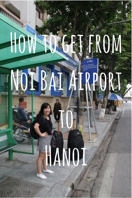 How to get from Noi Bai Airport to Hanoi