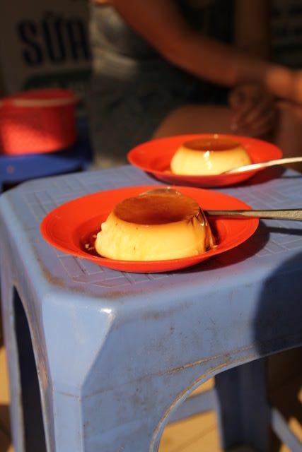 Creme caramel at Kem Caramen, Hanoi