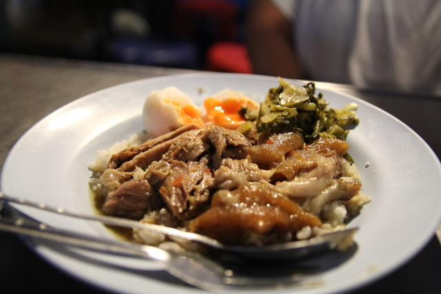 Khao kha moo from Chiang Mai, Thailand