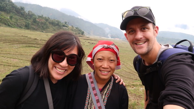 Chasing a Plate and guide in Sapa