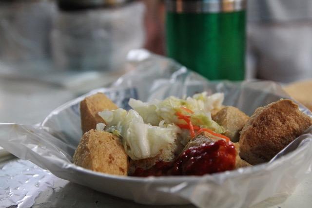 Taiwan street food: Stinky tofu, Taiwan