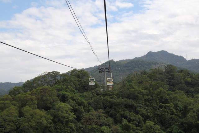 Taipei attractions: Maokong Gondola, Taipei, Taiwan