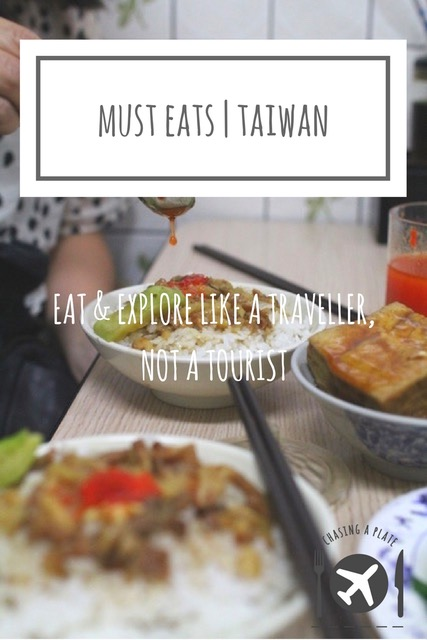 What to eat in Taiwan
