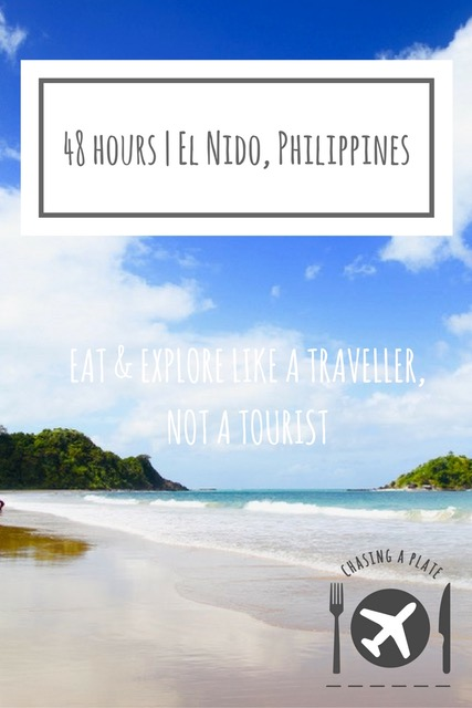 48 hours in El Nido, Palawan