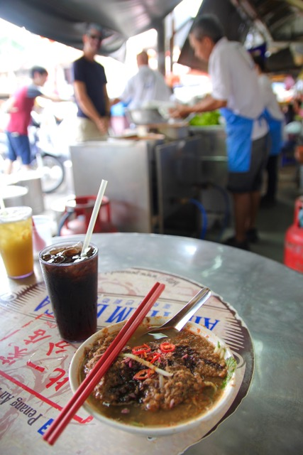 Places to eat in Penang: Assam laksa at Air Itam