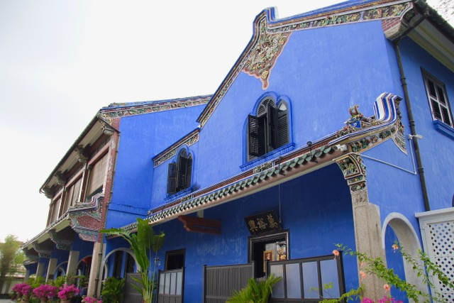 What to do in Penang: Visit The Blue Mansion
