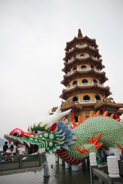 Things to do in Kaohsiung:: Dragon Temple, Kaohsiung, Taiwan