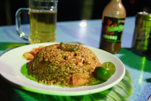 Jambalaya, Jambalaya Cafe, Port Barton, Pihilippines
