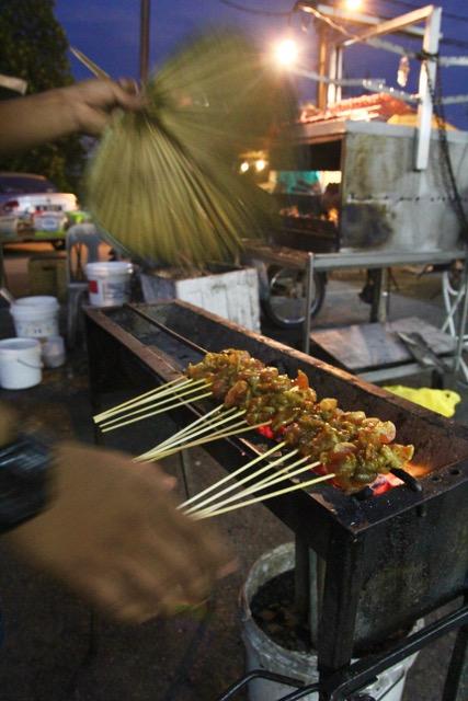 KL Food: Satay vendor, KL, Malaysia