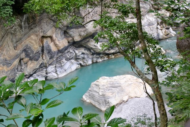 Taroko Gorge, Taiwan: Shakadang River