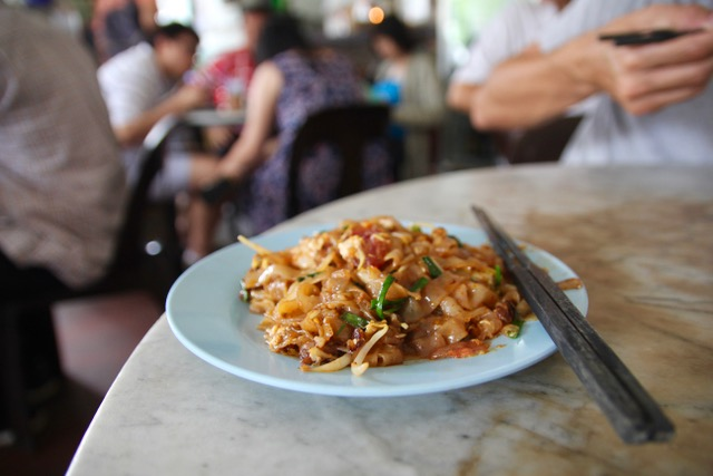 Places to eat in Penang: char koay teow on Siam Road, Penang street food at its finest