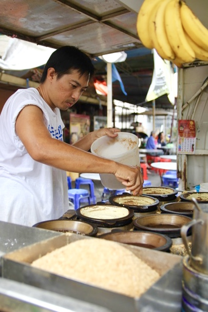What to do in Penang: Join Food Tour Malaysia on a Penang food tour and sample Chinese pancakes