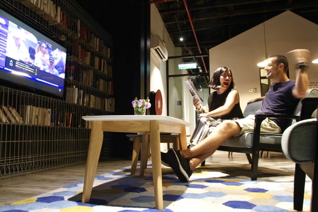 Where to stay in Penang: The Living Room at Container Hotel, George Town, Penang