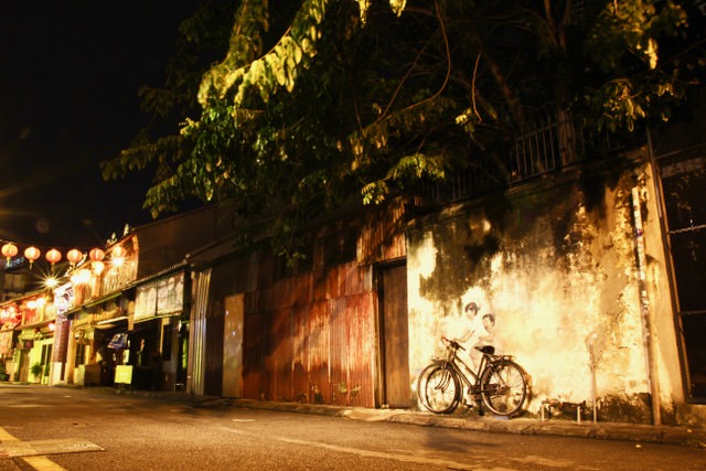What to do in Penang: wander the streets and admire the street art