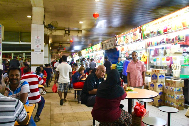 Places to eat in Singapore: Tekka Centre in Little India