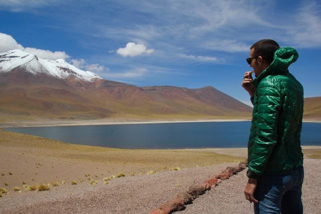 Laguna Miniques, Atacama Desert