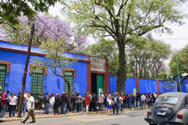 What to do in Mexico City: visit Museo Frida Kahlo