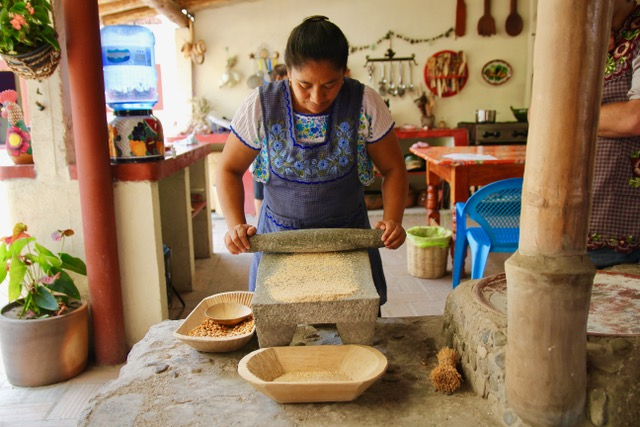 Things to do in Oaxaca: cooking class at El Sabor Zapoteco