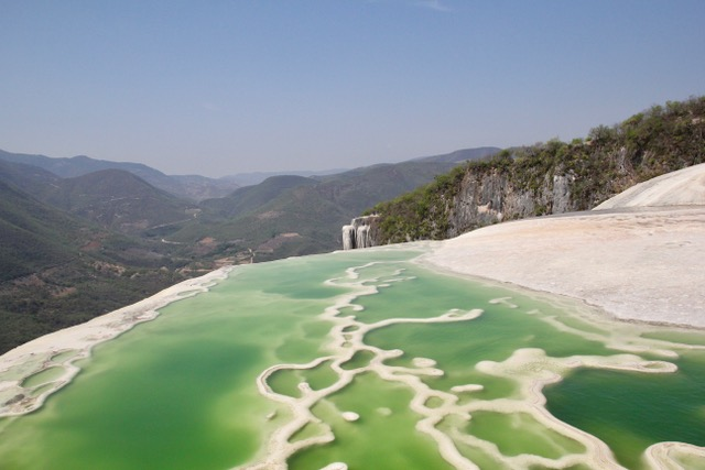 Things to do in Oaxaca: visit Hierve el Agua