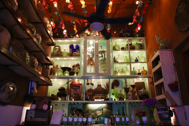 Things to do in Oaxaca: sip mezcal at Los Amantes