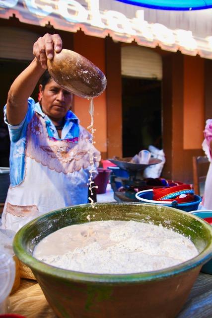 Oaxacan food: tejate