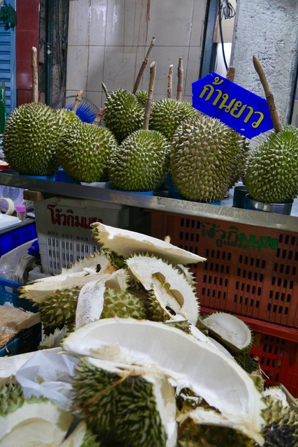 What to eat in Chinatown, Bangkok: durian