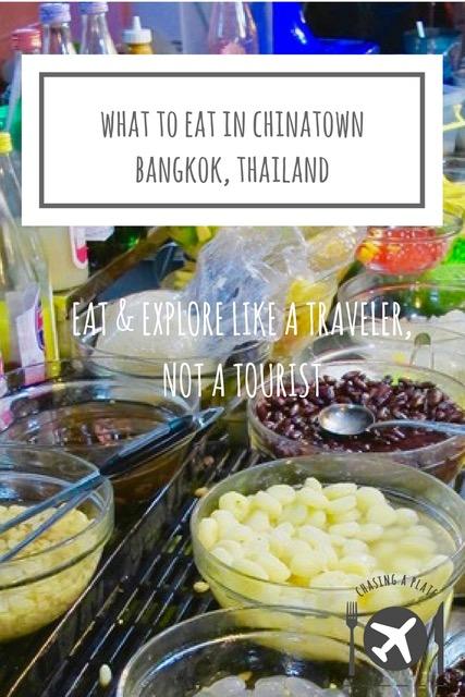 What to eat in Yaowarat, Bangkok