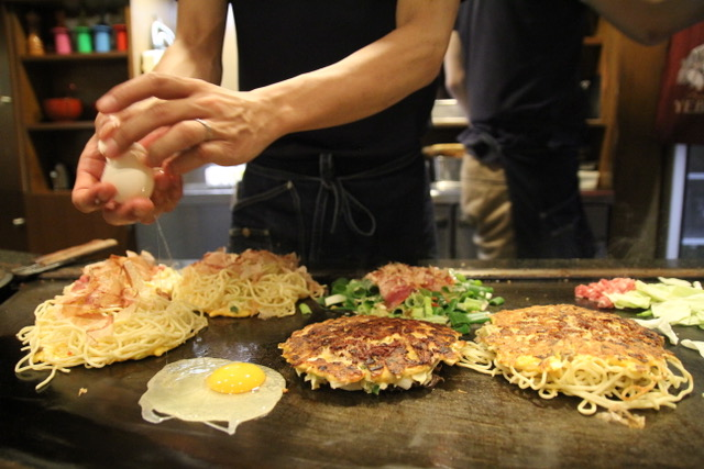 Where to eat in Osaka: Mizuno for okonomiyaki