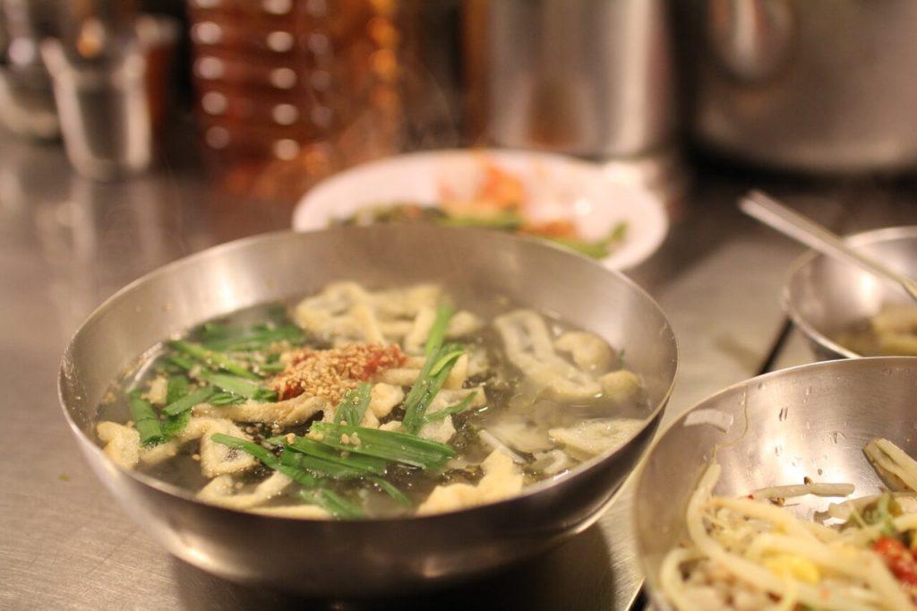 Kalguksu at Namdaemun Market, Seoul, South Korea