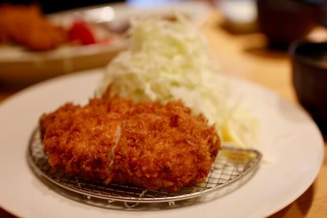 Tonkatsu at Ponchi-ken, Tokyo, Japan