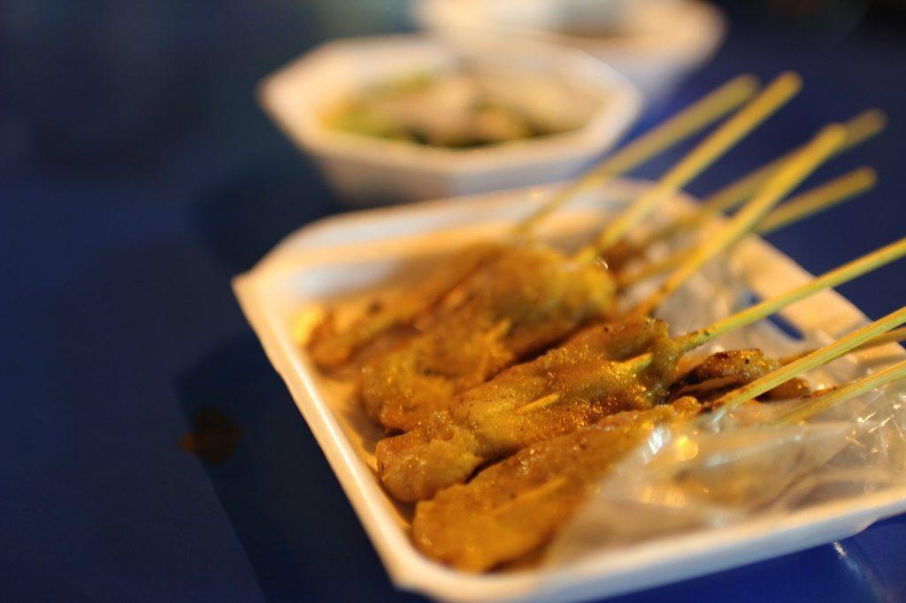 Satay Chinatown Bangkok Thailand