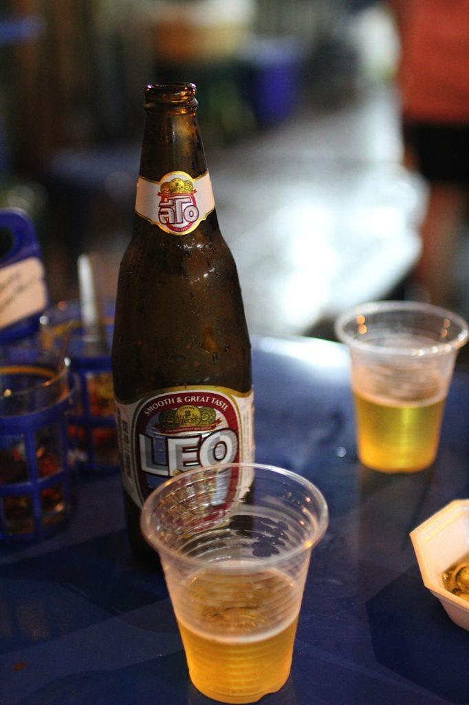 Beer Chinatown Bangkok Thailand