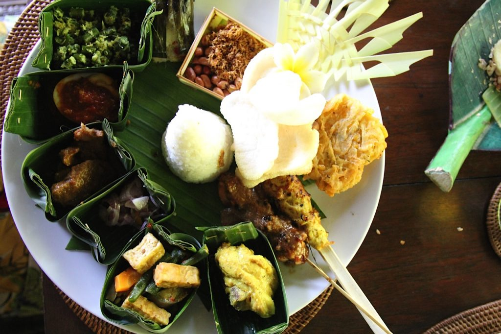 Best restaurants in Ubud: Nasi Campur at Miro's, Ubud, Bali